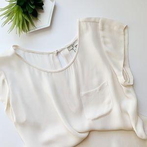 Joie Silk Pocket Blouse